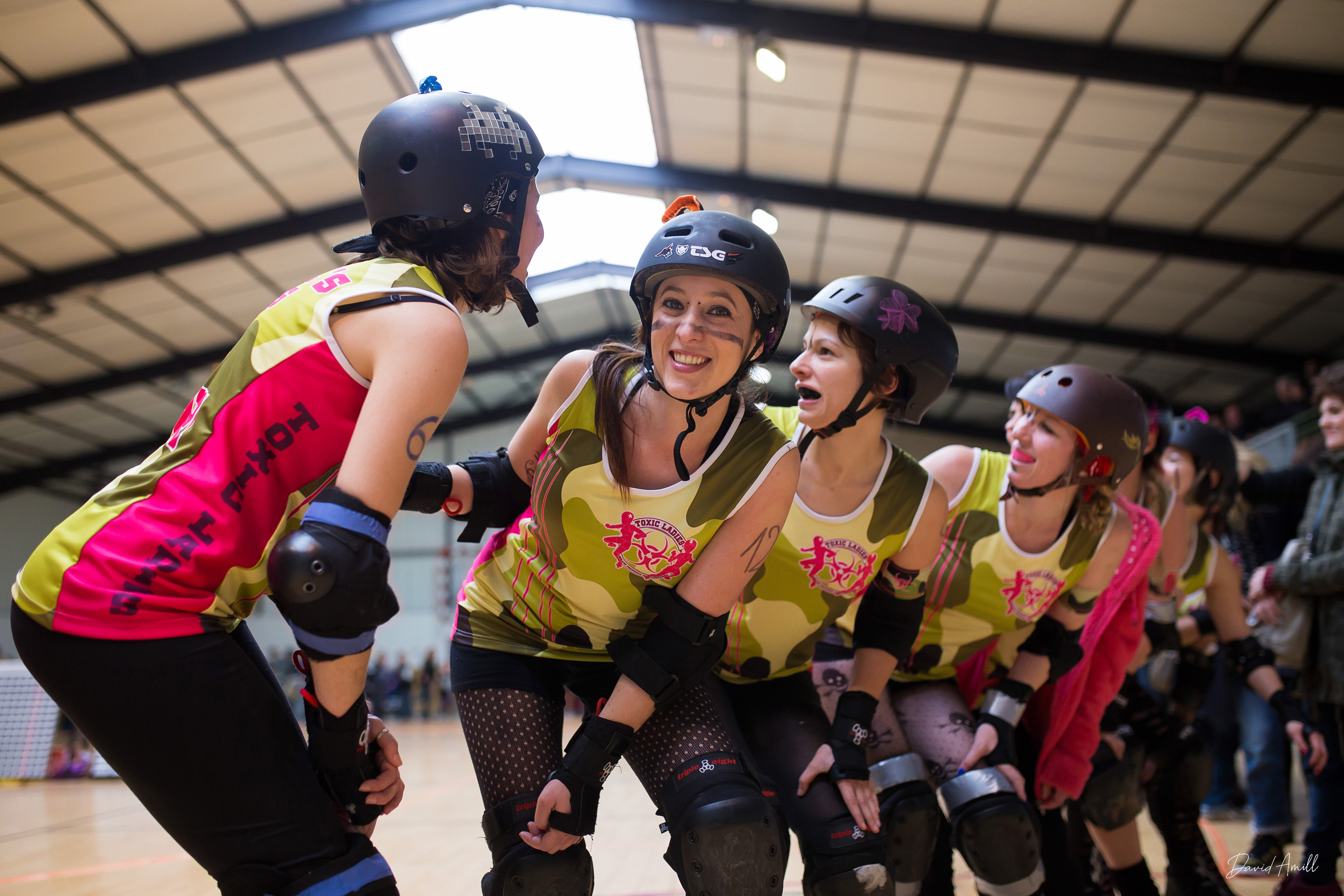 Roller Derby Toxic Ladies