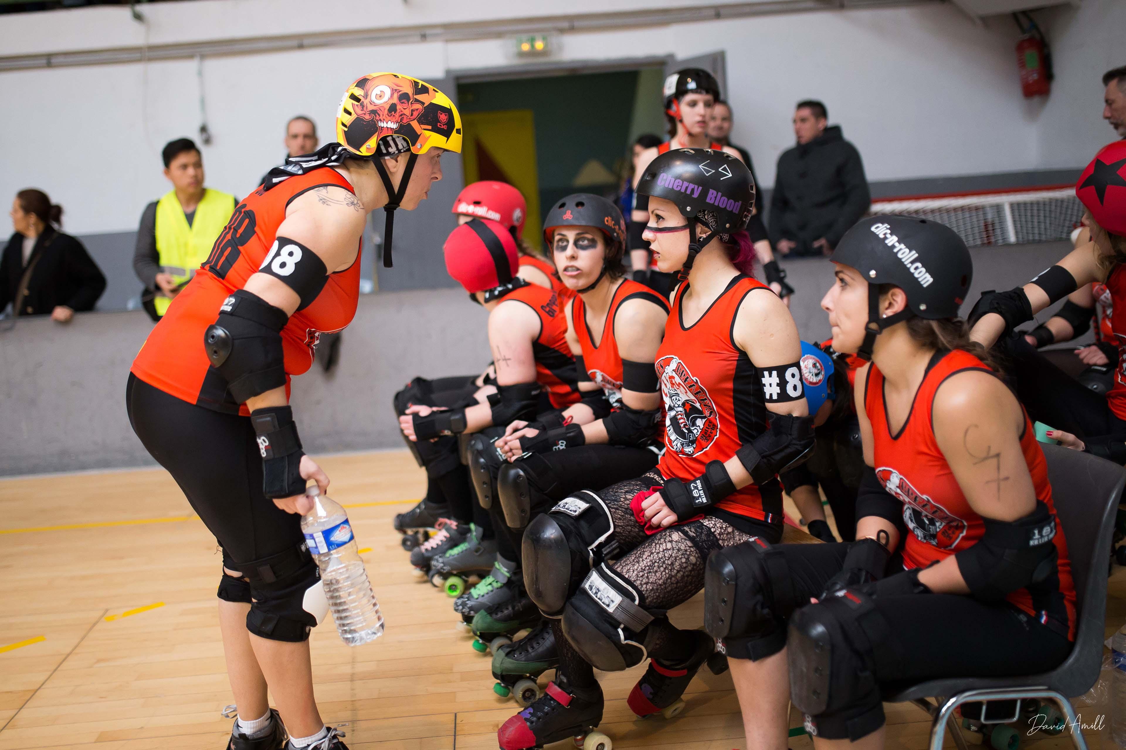Roller Derby Match Bones Breaker Nimes Broyeuses de chair alès