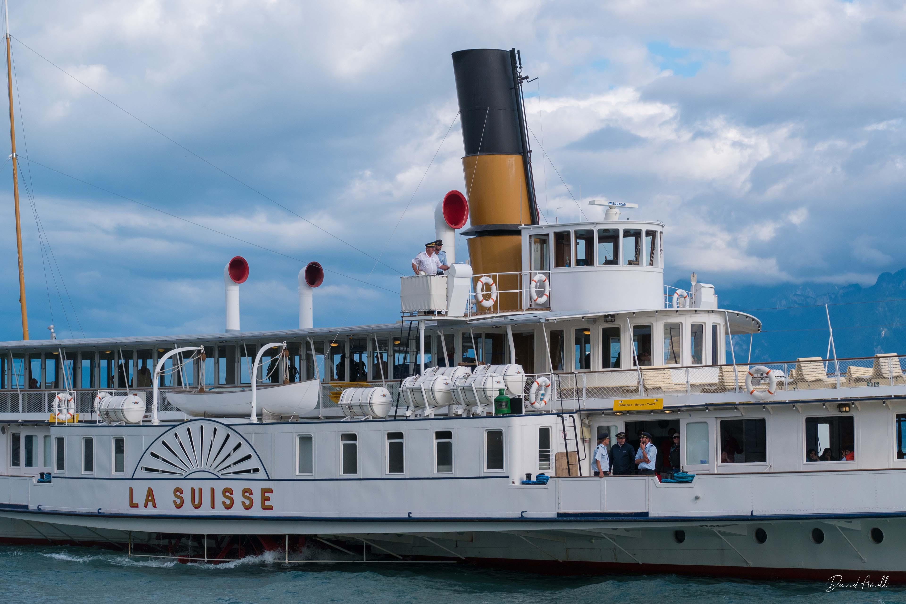 lausanne bateau lac leman